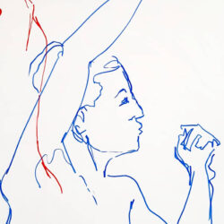 Life Drawing in Pen Rowan Briggs Smith